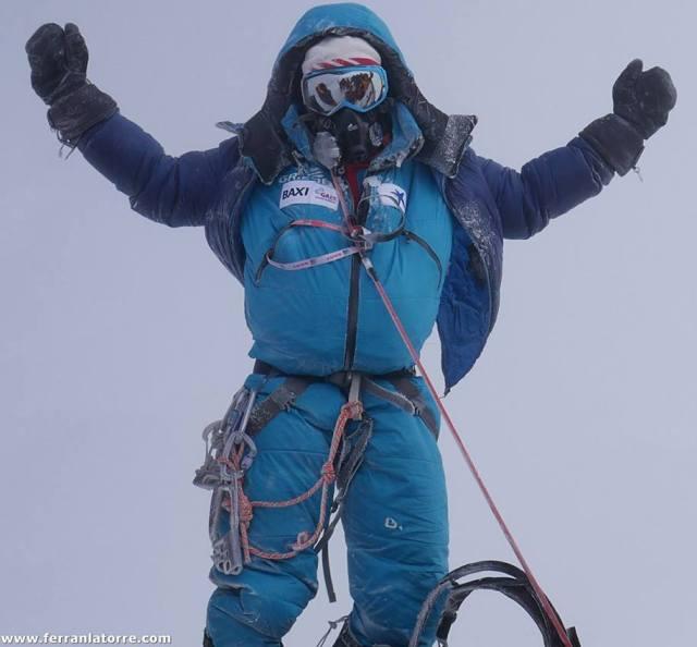 Con el Everest, Ferrán ha cumplido su sueño de lograr los 14 ochomiles del planeta