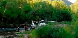 Uno de los fallecidos realizaba una salida de paddle surf en el Pirineo, desde el puente de Oliván hasta Sabiñánigo