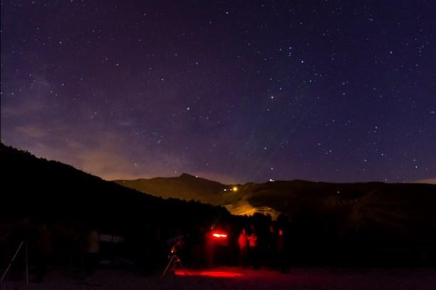El astroturismo de Sierra Nevada, actividad muy demanda en estos últimos años