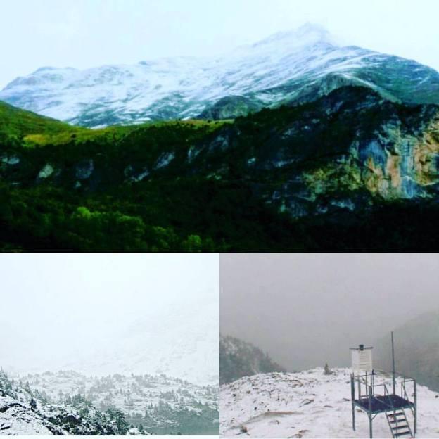 Unas imágenes muy blancas también desde Formigal