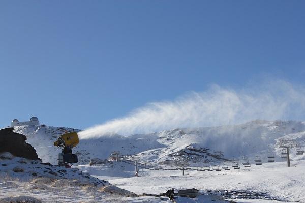 Sierra Nevada ha utilizado parte de su inversión en la compra de cañones de última generación