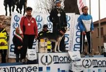 La deportista de la RFEDI, oro en la categoría Canicross Damas