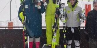 Júlia Bargalló ha subido en lo más alto del podio en el slalom FIS de Arinsal. La catalana lleva tres días seguidos pisando cajón