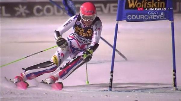 Petra Vhlova ha respondido a las expectativas y ha llegado hasta una final que ha perdido ante Shiffrin por cuatro centésimas