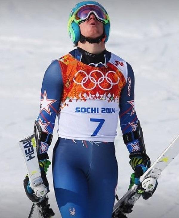 Ligety celebrando su oro olímpico de gigante en Sochi. Quiere llegar en condiciones de defenderlo en Pyeongchang este febrero