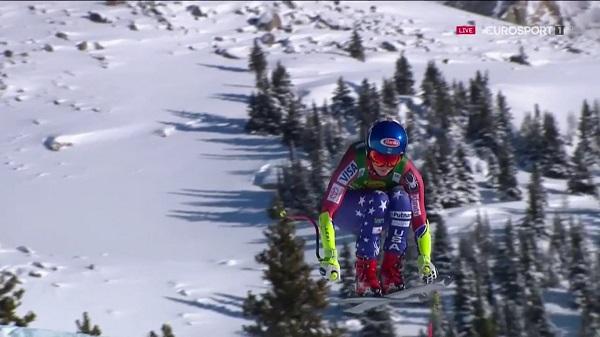 Esta temporada Mikaela Shiffrin ya ha empezado a ganar pruebas de velocidad