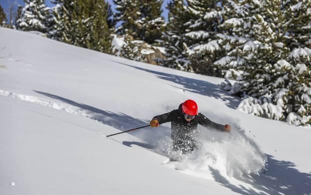 La nieve hará las delicias de los aficionados