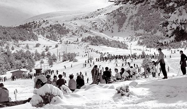La Molina ofrece una exposición gratuita en la que se recorren sus 75 años de historia FOTO: Grup FGC
