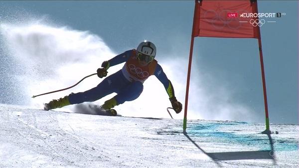 Johanna Schnarf, quinta, ha sido la mejor italiana, un equipo que ha colocado a cuatro esquiadoras entre las doce primeras