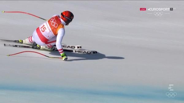 Matthias Mayer no pudo revalidar ayer su título de descenso pero se ha resarcido con el oro en el super G