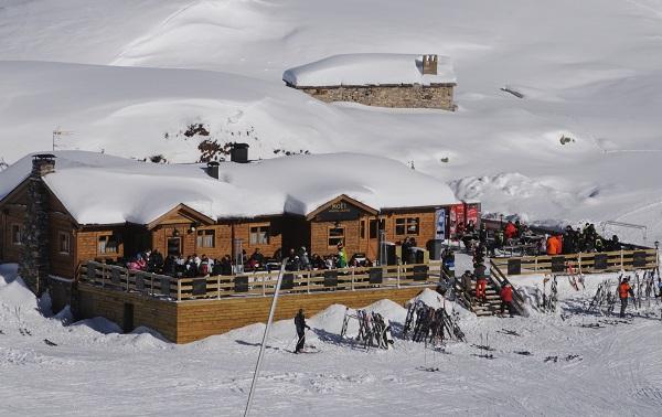 Uno de los puntos estrella de Baqueira es el Moët Winter Lounge.
