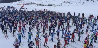 La Marxa Beret, la cita más multitudinaria de este país, acogió a 850 fondistas