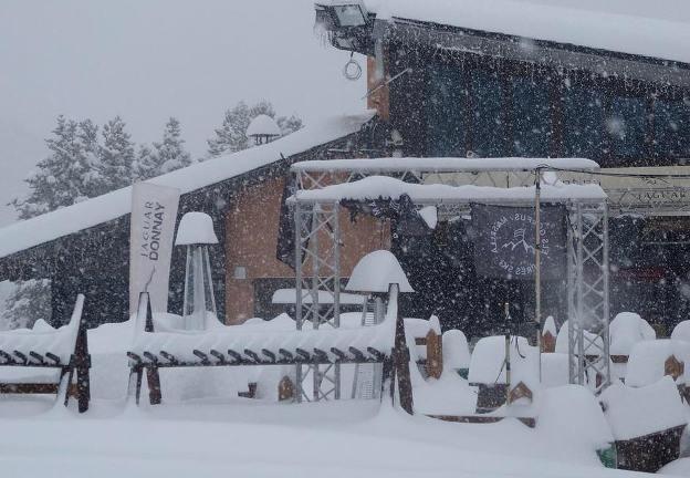 Masella ha recogido más de 90 cm y sigue nevando