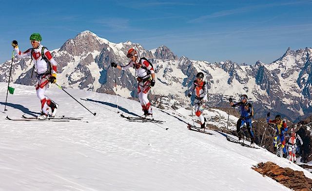 Más de 60 esquiadores españoles participan este fin de semana en la prestigiosa Tour du Rutor Extreme 2018