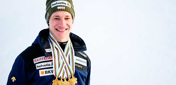 Marco Odermatt ha arrasado en el Mundial junior de Davos ganando todos los oros menos el de slalom, que fue para otra gran promesa como el francés Clement Noel