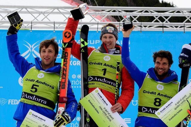 Junto al de Austria, Dominik Raschner, el podio ha sido completado por los italianos Giulio Giovanni Bosca y Andrea Ballerin