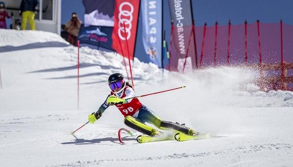 Núria Pau, campeona de España de slalom FOTO: Alejandro Molina-FADI