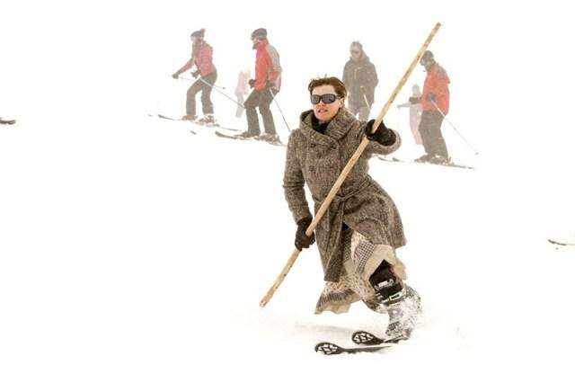 La modalidad del talón libre es originaria del esquí alpino actual