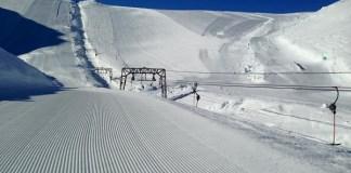 La estación noruega de Fonna arranca ahora su temporada porque la acumulación de nieve le impide abrir en invierno