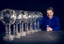 Marcel Hirscher con sus siete Grandes Globos consecutivos. El objetivo del austriaco será el octavo. FOTO: Red Bull Pool