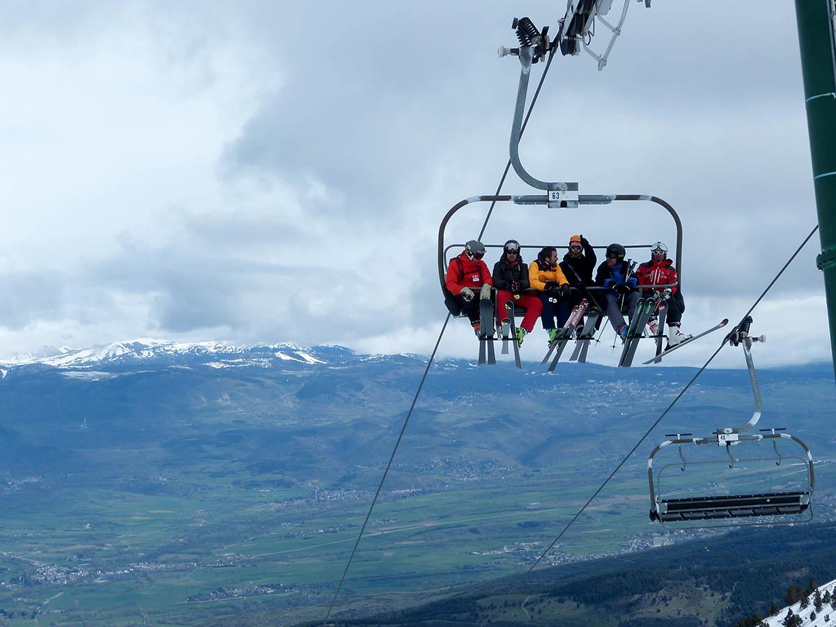Masella ha cerrado hoy la temporada de su 50 aniversario, la segunda más larga de su historia en días de esquí. FOTO: Masella