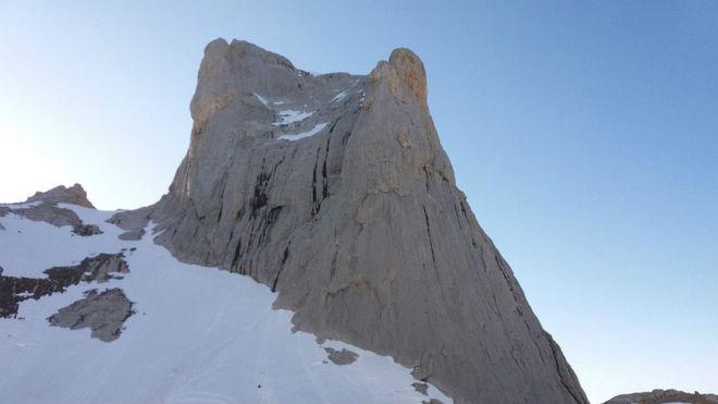 Una imagen del Naranjo de Bulnes,una de las cumbres míticas del montañismo español