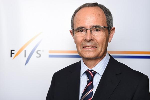 Eduardo Valenzuela, miembro del Consejo de la FIS, también lo es de la Asamblea General del COE. FOTO: RFEDI-Spainsnow