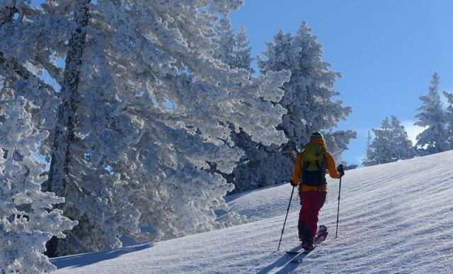 Los amantes del skimo podrán acceder hasta Benasque o Luchón con esquís