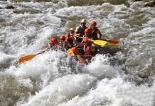 El rafting, una de las prácticas deportivas que ofrece la temporada estival en Boí Taüll