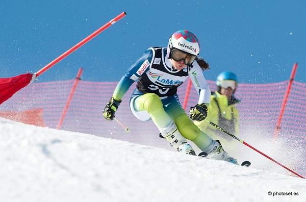 Júlia Bargalló ha decidido colgar los esquís a los 23 años FOTO: Toni Grases/photoset.es