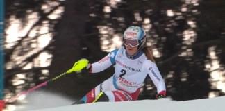Melanie Meillard ha visto frenada su progresión por una lesión que la ha apartado de los que hubieran sido sus primeros Juegos