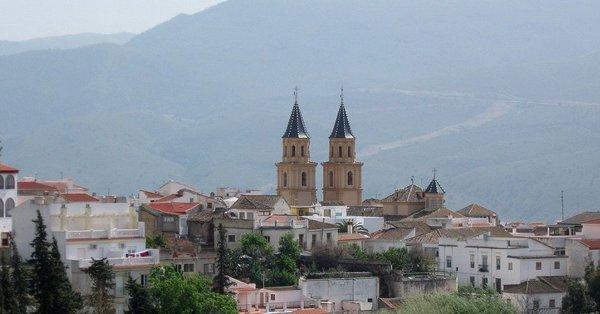 Una imagen de Órgiva, donde se ubica el barranco de Trevélez