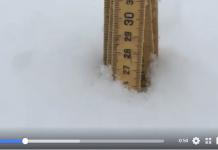 La nieve ha dejado en los Alpes registros de más de 25 cm de elemento blanco a partir de la cota 2000 m