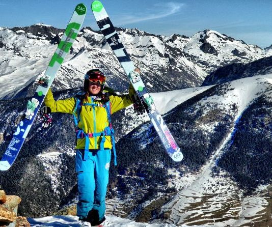 Ruth Frutos da el salto al Freeride World Tour