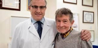 Soria, de 79 años, ha sido intervenido de una prótesis de rodilla