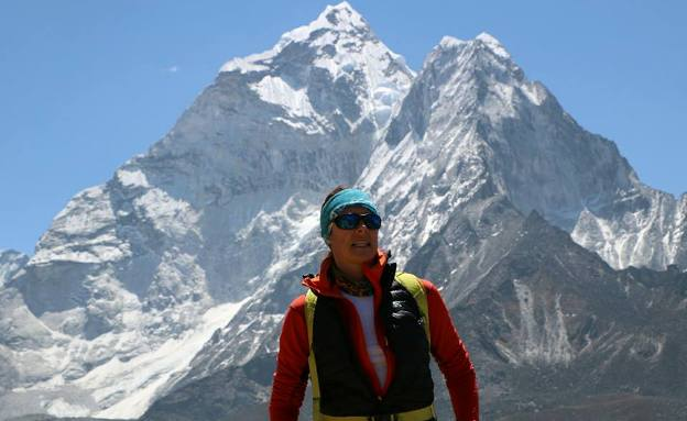 Junto a Edurne Pasaban, la expedición esta formada por cuatro 4 mujeres Nepalis de la región