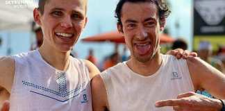 Davide Magnini y Kilian Jornet