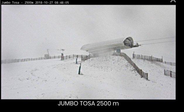 Masella ya tiene las cotas altas cargadas de nieve y los cañones no paran