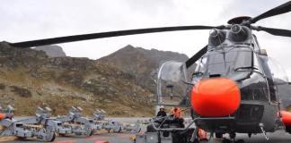 Las últimas pilonas del telecabina Tristaina han sido transportadas con helicóptero