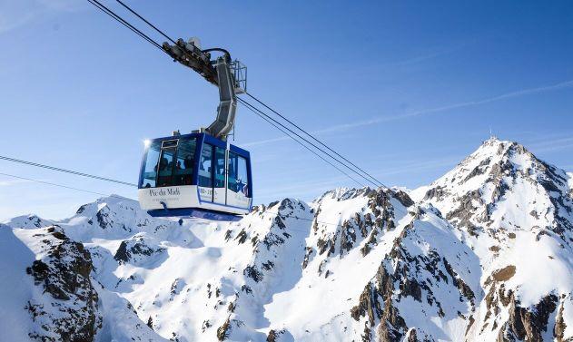 Grand Tourmalet abre un vasto dominio esquiable