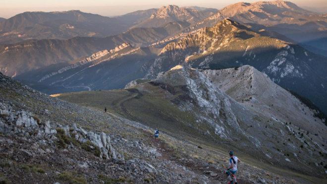 Paso del Ultra Pirineu por Niu de l'Àliga. Guillem CasanovaSalomon Ultra Pirineu