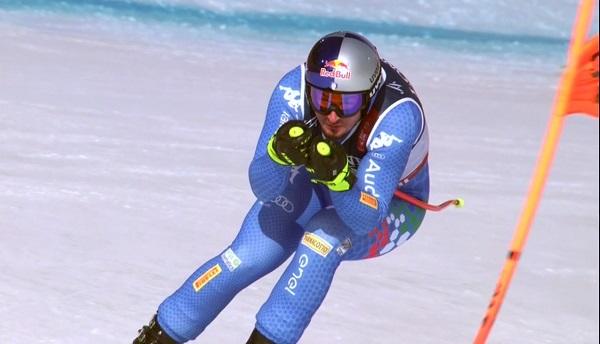 Dominik Paris y los velocistas no han tenido opción en una combinada con el descenso acortado y un slalom exigente.