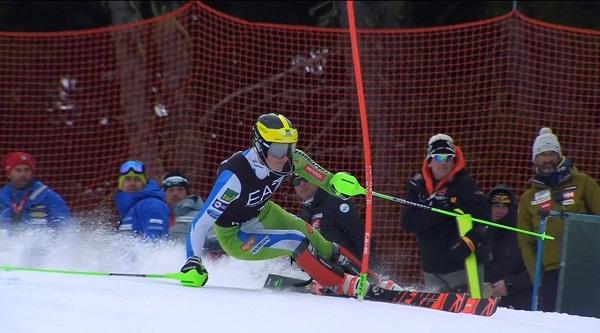Primer podio en la Copa del Mundo para el esloveno Stefan Hadalin.