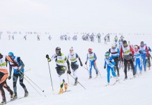 Una imagen del área de esquí de fondo de Beret
