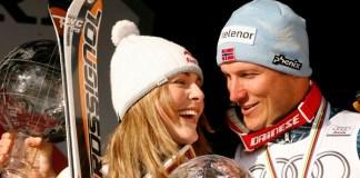 Dos leyendas del esquí alpino, Lindsey Vonn y Aksel Lund Svindal, realizarán sus últimas bajadas con dorsal en el Mundial de Are.