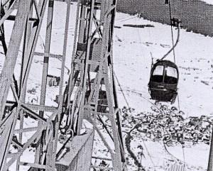 El primer telecabina data de 1971.