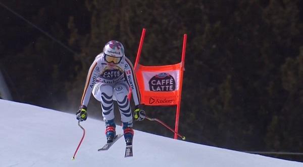 Excelente final de temporada de Viktoria Rebensburg, hoy segunda.