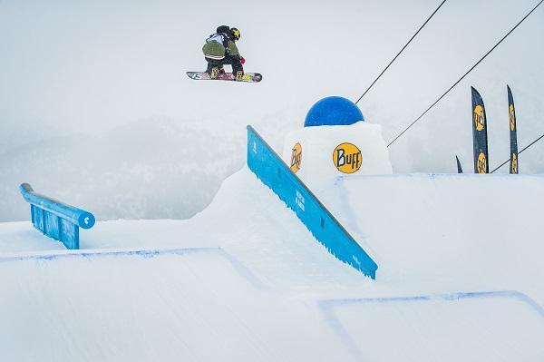 Detalle del circuito del Snowpark de El Tarter.