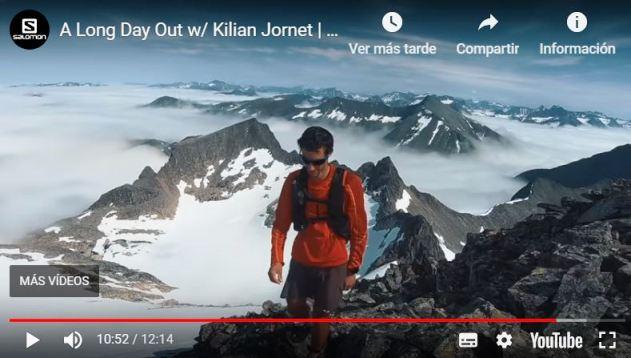 Una imagen del documental 'A long day out', con Jornet como protagonista