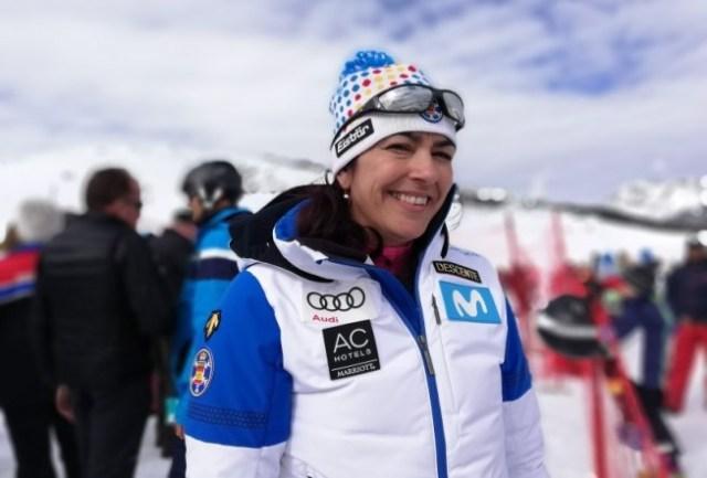 Maria José Rienda, contenta por Vonn
